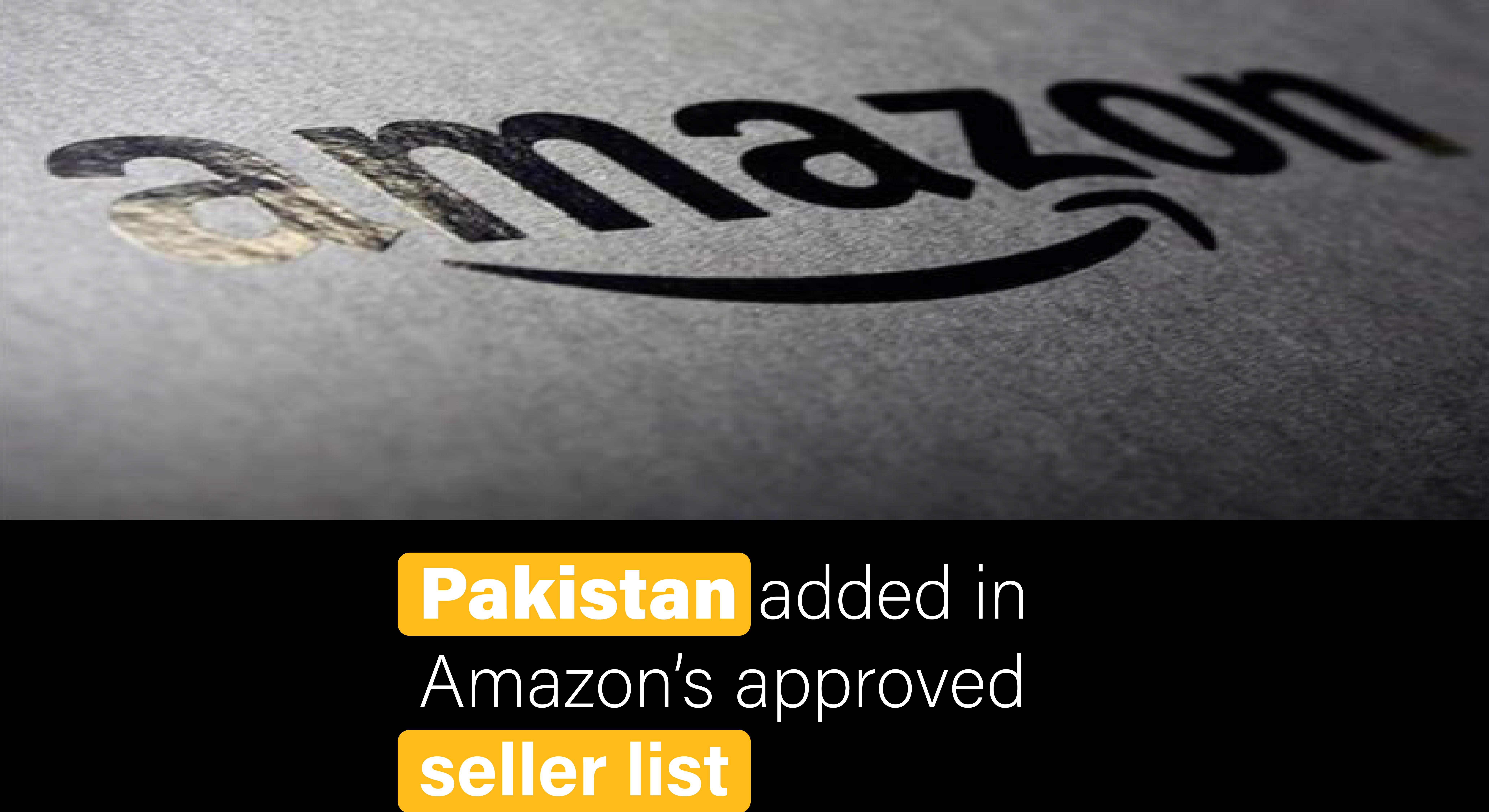 Sell On Amazon from Pakistan